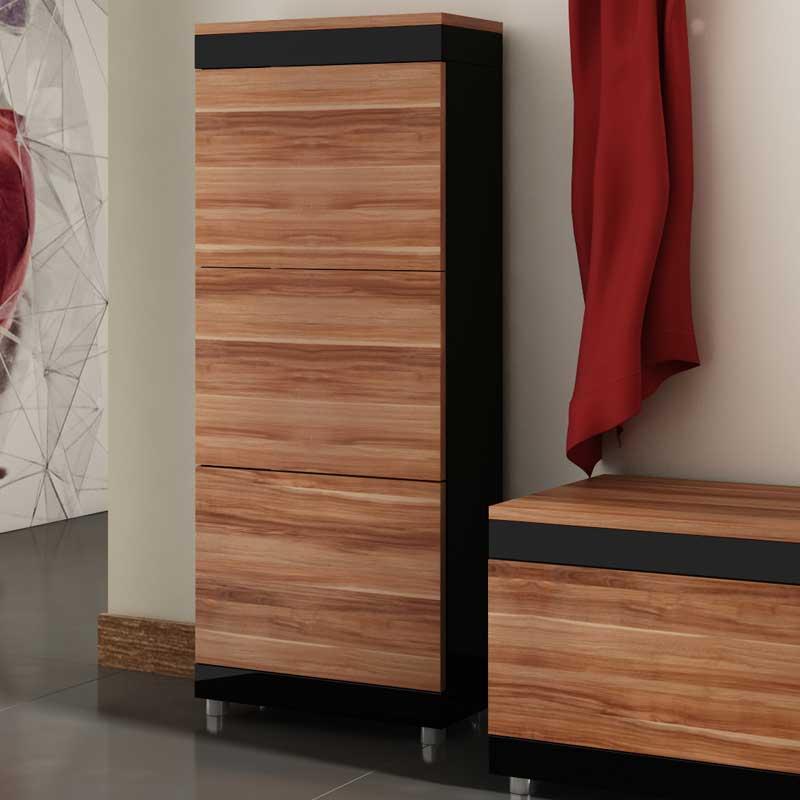 szafa obrotowa do przedpokoju z lustrem w wersji garderoba. Black Bedroom Furniture Sets. Home Design Ideas