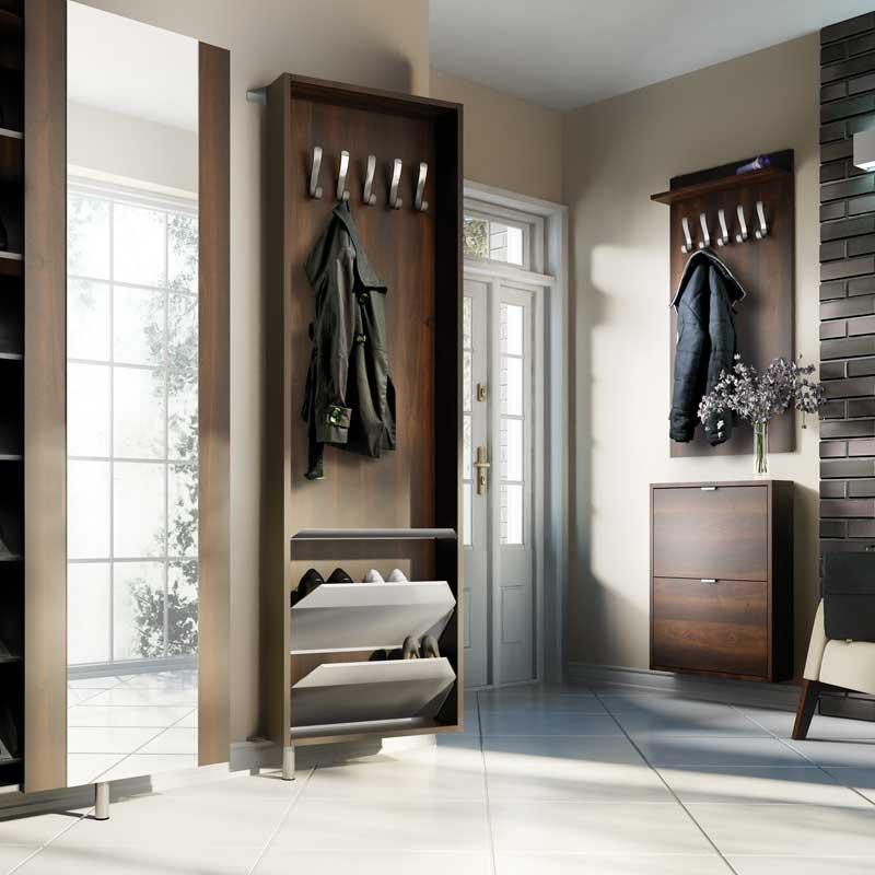 lustro w skie metalowe slim slim kolekcje allhall. Black Bedroom Furniture Sets. Home Design Ideas